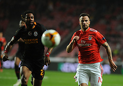 February 21, 2019 - Na - Lisbon, 21/02/2019 - SL Benfica received Galatasaray SK tonight at Estádio da Luz in the second qualifying round of the Europa League 2018/2019. Seferovic  (Credit Image: © Atlantico Press via ZUMA Wire)