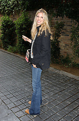 ALEXANDRA AITKEN at the No Campaign's Summer Party - a celebration of the 'Non' and 'Nee' votes in the Europen referendum in France and The Netherlands held at The Peacock House, 8 Addison Road, London W14 on 5th July 2005.<br />