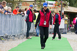 Referee of AZS furing 3. Konjiski maraton / 3rd Marathon of Slovenske Konjice, on September 27, 2015 in Slovenske Konjice, Slovenia. Photo by Urban Urbanc / Sportida
