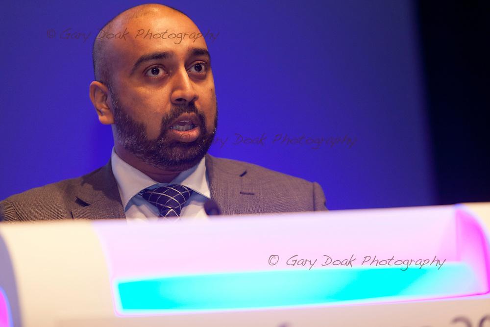 Krishna Kasaraneni<br /> BMA LMC's Conference<br /> EICC, Edinburgh<br /> <br /> 18th May 2017<br /> <br /> Picture by Gary Doak