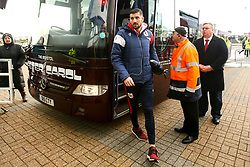 Eros Pisano of Bristol City arrives at Pride Park Stadium for the Sky Bet Championship game against Derby County - Mandatory by-line: Robbie Stephenson/JMP - 22/12/2018 - FOOTBALL - Pride Park Stadium - Derby, England - Derby County v Bristol City - Sky Bet Championship