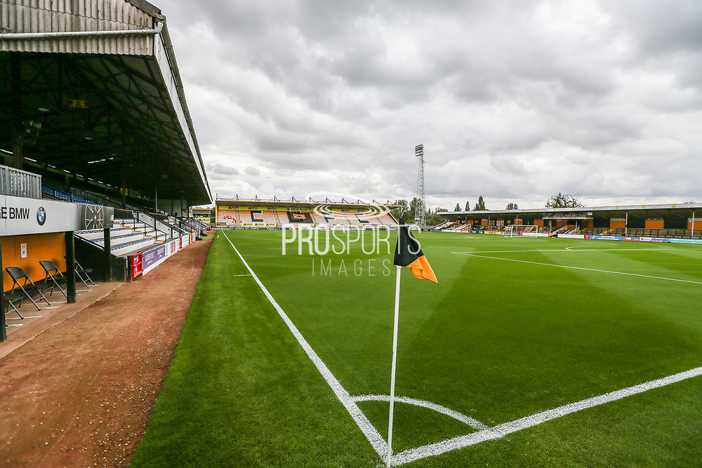 Cambs Glass Stadium, home of Cambridge United during the EFL Sky Bet League 2 match between Cambridge United and Forest Green Rovers at the Cambs Glass Stadium, Cambridge, England on 7 September 2019.