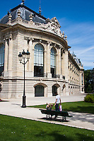 Petit Palais Paris France in Spring time of May 2008