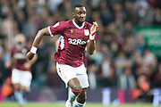 Yannick Bolasie of Aston Villa (11) races forward during the EFL Sky Bet Championship match between Aston Villa and Rotherham United at Villa Park, Birmingham, England on 18 September 2018.