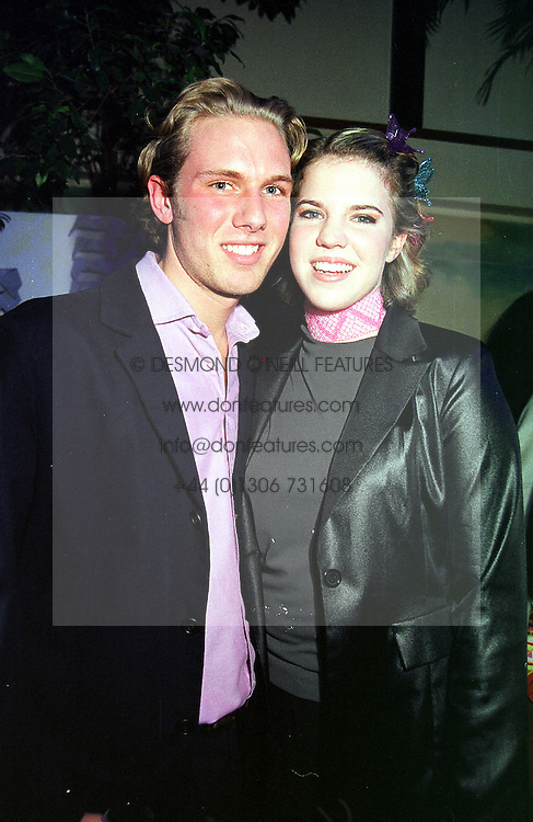 MISS ALEXANDRA AITKEN daughter of disgraced former MP Jonathan Aitken, and MR WILL BOWERS at a party in London on 30th March 2000.OCL 59<br /> © Desmond O'Neill Features:- 020 8971 9600<br />    10 Victoria Mews, London.  SW18 3PY  photos@donfeatures.com   www.donfeatures.com<br /> MINIMUM REPRODUCTION FEE AS AGREED.<br /> PHOTOGRAPH BY DOMINIC O'NEILL