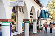 Shopping at Main Beach In Downtown Laguna Beach