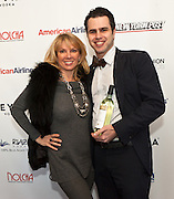 "Ramona Singer, cast member of Bravo network's Real Housewives of New York City and Arthur Mandel, Co-founder of Nolcha.Nolcha supports the growth of ethical fashion and celebrate independent fashion brands who hold to sustainable, organic and eco-friendly fashion standards.  Nolcha is an award-winning leading global platform advancing the business of independent fashion designers and retailers via social e-commerce, fashion week events and an educational video portal. Ramona Singer, cast member of Bravo network's Real Housewives of New York City, is an astute businesswoman and a true aficionado of fashion with a passion for being a wife and mother. Her newest venture is Ramona Pinot Grigio made in the Venoto region of Italy, partnering with a 75 year-old Italian wine company. Ramona can now do ""Turtle Time"" all the time! Ramona has taken the beauty and accessory industries by storm with her Tru Renewal skincare line, her True Faith jewelry collection, and, this March, her two-year anniversary for Ramona Singer Jewelry on HSN. She also has her Amazon store, Ramona Singer Collections."