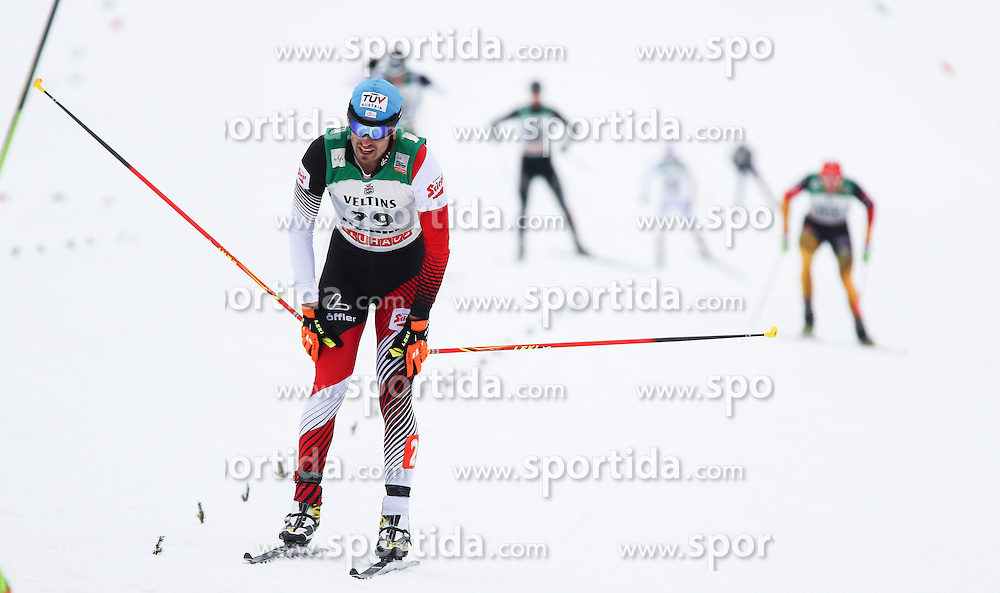 30.01.2015, Langlaufzentrum, Lago di Tesero, ITA, FIS Weltcup Nordische Kombination, Val di Fiemme, Langlauf, im Bild Lukas Klapfer (AUT) // during Cross Country of the FIS Nordic Combined World Cup Val di Fiemme at the Langlaufzentrum in Lago di Tesero, Italy on 2015/01/30. EXPA Pictures © 2015, PhotoCredit: EXPA/ Alice Russolo
