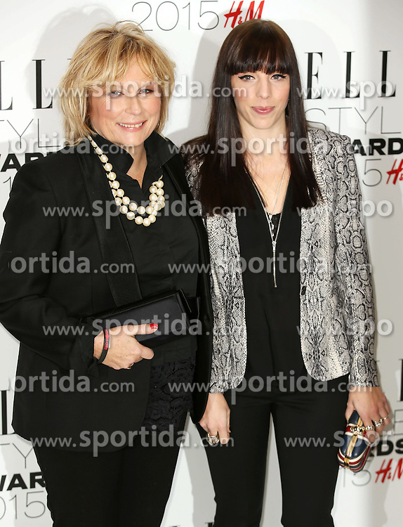 Ella Edmondson and Jennifer Saunders attends the Elle Style Awards 2015 at Sky Garden @ The Walkie Talkie Tower on February 24, 2015 in London, England. EXPA Pictures &copy; 2015, PhotoCredit: EXPA/ Photoshot/ James Shaw<br /> <br /> *****ATTENTION - for AUT, SLO, CRO, SRB, BIH, MAZ only*****
