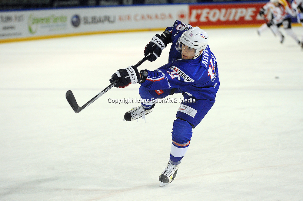 Yohann AUVITU - 24.04.2015 - France / Suisse - Match Amical -Grenoble<br />