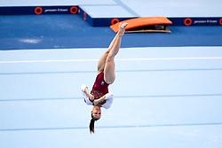 Tjasa Kysselef of Slovenia at Floor Exercise during Finals of Artistic Gymnastics FIG World Challenge Koper 2018, on June 3, 2017 in Arena Bonifika, Koper, Slovenia. Photo by Matic Klansek Velej/ Sportida