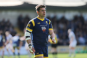 Worcester Warriors  Wynand Olivier (23)  second half try scorer during the Aviva Premiership match between Worcester Warriors and Bath Rugby at Sixways Stadium, Worcester, United Kingdom on 15 April 2017. Photo by Gary Learmonth.