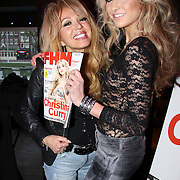 NLD/Amsterdam/20091214 - Onthulling FHM cover Christina Curry, Patricia Paay en dochter Christina Curry