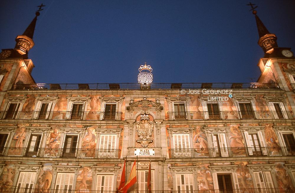 CASA DE LA PANADERIA DE LA PLAZA MAYOR DE MADRID