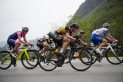 Jesse Vandenbulcke (BEL) at GREE Tour of Guangxi Women's WorldTour 2019 a 145.8 km road race in Guilin, China on October 22, 2019. Photo by Sean Robinson/velofocus.com