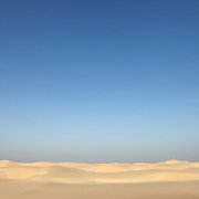 Steroh dunes, south coast, Socotra island, listed as World Heritage by UNESCO, Aden Governorate, Yemen, Arabia, West Asia