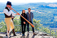 Prince Carl Philip, Princess Sofia  Attendance at the opening of Hykjeberget Nature Reserve