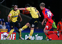 Photo: Tom Dulat.<br /> <br /> Crystal Palace v Watford. Coca Cola Championship. 29/10/2007.<br /> <br /> Tommy Smith of Watford scored opener of the game. Watford leads 1-0