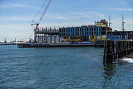 Pier 17 at South Street Seaport under construction