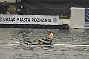 Poznan, POLAND.  2006, FISA, Rowing World Cup, Men's single final, GBR M1X, Alan  CAMBPELL,   'Malta Regatta course;  Poznan POLAND, Sat. 17.06.2006. © Peter Spurrier   ....[Mandatory Credit Peter Spurrier/ Intersport Images] Rowing Course:Malta Rowing Course, Poznan, POLAND