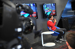 August 16, 2017 - Atual campeão mundial da Fórmula E e ex piloto de F1, o piloto brasileiro Lucas Di Grassi concede entrevista coletiva na manhã de hoje, 16, em São Paulo-SP. (Credit Image: © Duda Bairros/Fotoarena via ZUMA Press)