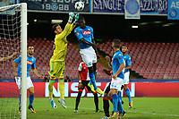 Brad Jones Feyenoord e Kalidou Koulibaly Napoli <br /> Napoli 26-09-2017 Stadio San Paolo<br /> Football Calcio UEFA Champions League 2017/2018<br /> Napoli - Feyenoord<br /> Group F<br /> Foto Cesare Purini / Insidefoto