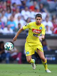 August 1, 2017 - Munich, Germany - Jorginho of Napoli during the first Audi Cup football match between Atletico Madrid and SSC Napoli in the stadium in Munich, southern Germany, on August 1, 2017. (Credit Image: © Matteo Ciambelli/NurPhoto via ZUMA Press)
