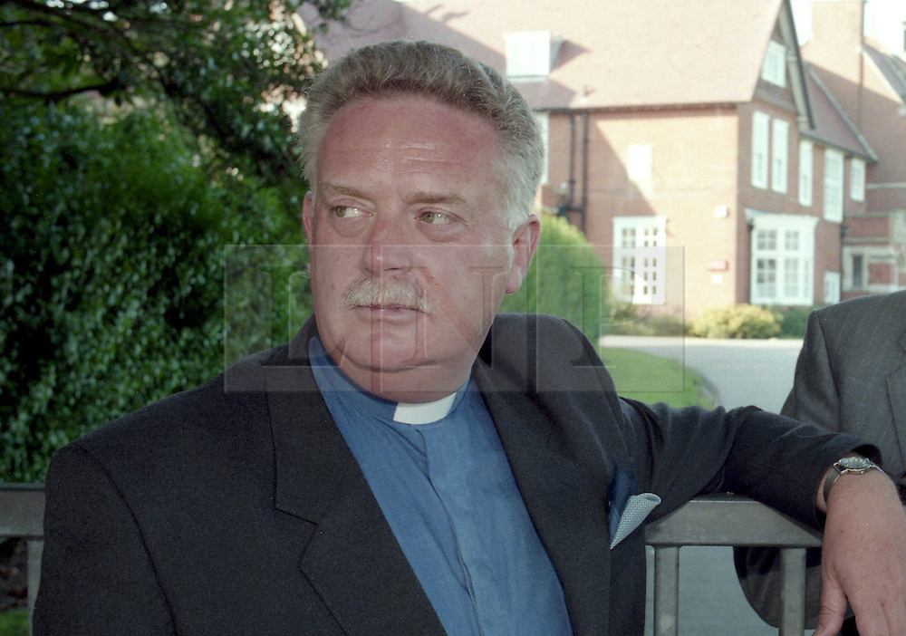 Licensed to London News Pictures 19/11/2013 FILE PICTURE of Reverend Paul Flowers from 1997. Mr Flowers was chairman of the Co-Op Bank from April 2010 to June this 2013. He has been suspended in his role as a Methodist Minister following allegations in a British Newspaper. Photo Credit: Sam Atkins/LNP