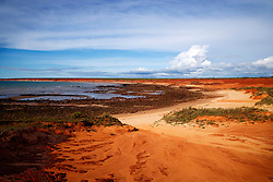 Storms build at James Price Point on the Dampier Peninsular, site of a proposed LNG gas processing facility.  The area is a popular local recreation spot, about 60km north of Broome.  This image was taken during a photo shoot with photographers from the West Australian on New Year's Eve, 2008.