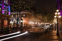 Water Street featuring Gastown Steam Clock