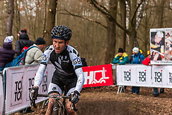 Angus Edmond (NZL), Men Elite, Cyclo-cross World Championship Tabor, Czech Republic, 1 February 2015, Photo by Pim Nijland / PelotonPhotos.com