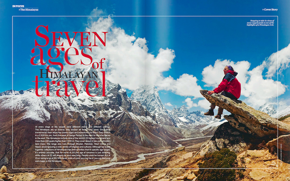 National Geographic Traveler (IN): Seven Ages of Himalayan Travel (July 2012)