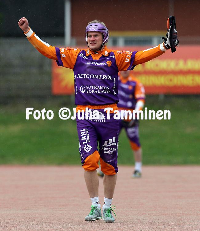 12.5.2012, Pihkala, Hyvink??..Superpesis 2012, Hyvink??n Tahko - Sotkamon Jymy..Antti Hartikainen - Sotkamo.