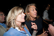 RACHEL JOHNSON; MARIE COLVIN, Book party for Janine di Giovanni's Ghosts by Daylight. Blake's Hotel. South Kensington. London. 12 July 2011. <br /> <br />  , -DO NOT ARCHIVE-© Copyright Photograph by Dafydd Jones. 248 Clapham Rd. London SW9 0PZ. Tel 0207 820 0771. www.dafjones.com.