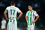 SEVILLE, SPAIN - NOVEMBER 03:  Andres Guardado of Real Betis Balompie looks on during the La Liga match between Real Betis and Getafe at Estadio Benito Villamarin  on November 3, 2017 in Seville, .  (Photo by Aitor Alcalde Colomer/Getty Images)
