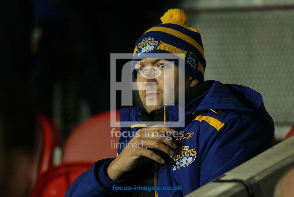 Danny McGuire of Leeds Rhinos during the Betfred Super League match at the Totally Wicked Stadium, St Helens<br /> Picture by Stephen Gaunt/Focus Images Ltd +447904 833202<br /> 09/02/2017