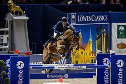 STEVENS Mario (GER), Cero<br /> Grand Prix von Volkswagen<br /> Int. jumping competition over two rounds (1.55 m) - CSI3*<br /> Comp. counts for the LONGINES Rankings<br /> Braunschweig - Classico 2020<br /> 08. März 2020<br /> © www.sportfotos-lafrentz.de/Stefan Lafrentz