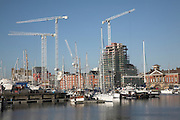 Urban redevelopment of docks, Ipswich Wet Dock, Suffolk, England