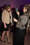 SOPHIE DAHL; BAY GARNETT, Vogue100 A Century of Style. Hosted by Alexandra Shulman and Leon Max. National Portrait Gallery. London. WC2. 9 February 2016.
