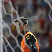 Spain goalkeeper Iker Casillas, during the Spain V Ireland International Friendly football match at Yankee Stadium, The Bronx, New York. USA. 11th June 2013. Photo Tim Clayton