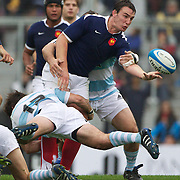 Louis Picamoles, France, in action during the Argentina V France test match at Estadio Jose Amalfitani, Buenos Aires,  Argentina. 26th June 2010. Photo Tim Clayton...