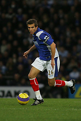 PORTSMOUTH, ENGLAND - MONDAY, JANUARY 1st, 2007: Gary O'Neil of Portsmouth against Tottenham Hotspur during the Premiership match at Fratton Park. (Pic by Chris Ratcliffe/Propaganda)