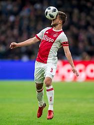 21-01-2018 NED: AFC Ajax - Feyenoord, Amsterdam<br /> Ajax was met 2-0 te sterk voor Feyenoord / Joel Veltman #3 of AFC Ajax