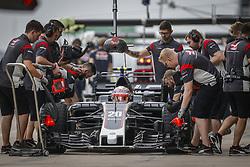 October 20, 2017 - Austin, United States of America - Motorsports: FIA Formula One World Championship 2017, Grand Prix of United States, ..#20 Kevin Magnussen (DNK, Haas F1 Team) (Credit Image: © Hoch Zwei via ZUMA Wire)