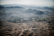 Picture taken on a Afghani landscape on September 26, 2012. AFP PHOTO / JEFF PACHOUD