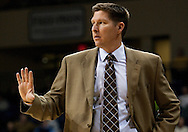 8 December 2009:  Wright State Head Coach Brad Brownell during the NCAA basketball game between Wright State and the Toledo Rockets at Savage Arena in Toledo, OH.