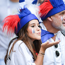 A French fan during the FIFA World Cup Group C match between Denmark and France at Luzhniki Stadium on June 26, 2018 in Moscow, Russia. (Photo by Anthony Dibon/Icon Sport)