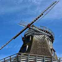 Meyers M&uuml;hle Dutch Windmill in Warnem&uuml;nde, Germany<br />