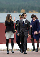 &Auml;lvdalen, 06-10-2015<br /><br />Official visit of Prince Carl Philip and Princess Sofia to Dalrna<br /><br />Visit to the company I-Cell<br /><br />Photo: Royalportraits Europe/Bernard Ruebsamen