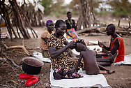 South Sudan food crises. ICRC and South Sudan Red Cross are distributing food by air drops to people, refugees, IDP´s from planes, witch is the only way to reach the people in the conflict areas. The lack of food caused by the fights in the county.